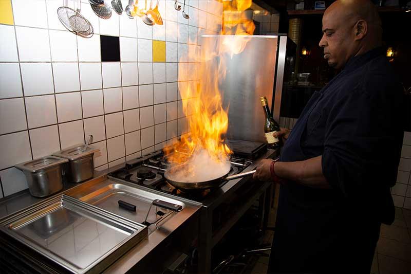 Kimo - Chefkok van Restaurant Kimo in Stadskanaal
